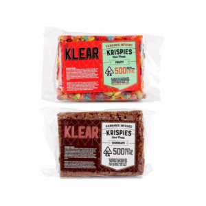 Klear Cannabis Infused Krispies