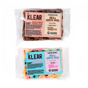 Klear Milk and Cereal Bars